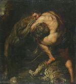Hercules vs Nemean Lion