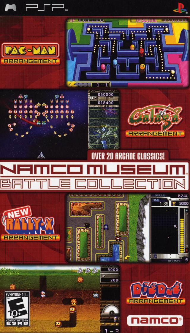 namco museum battle collection namco museum wiki