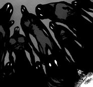 Hendriksen sensing the presence of the Demons he released