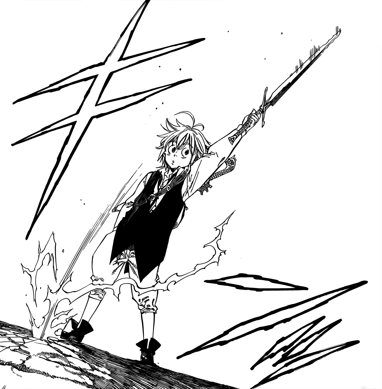 how to make meliodas sword