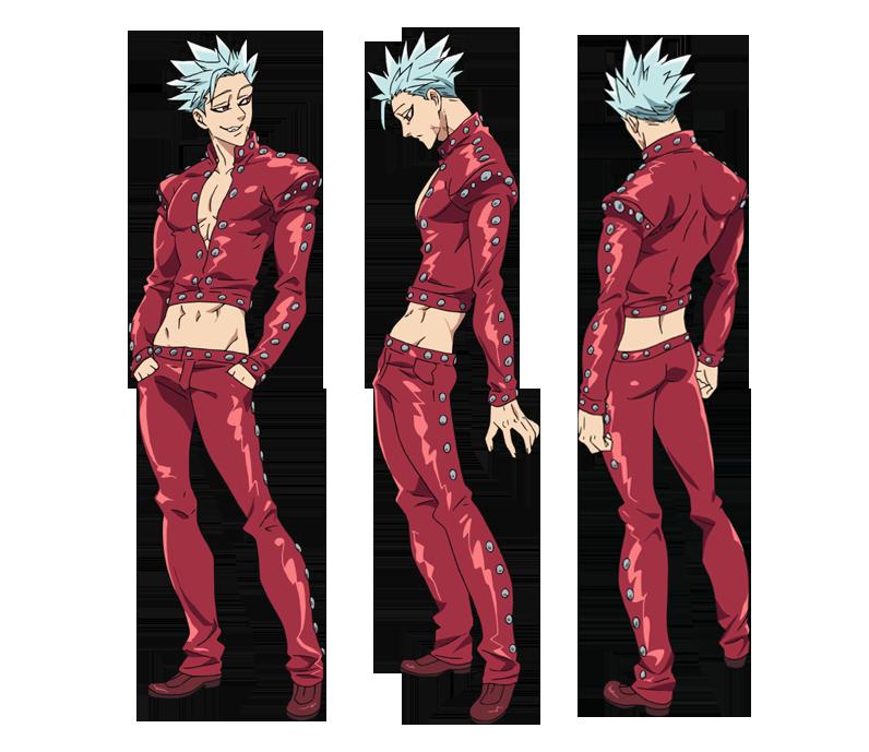 Force Character Design From Life Drawing Ebook : Image ban anime character designs nanatsu no