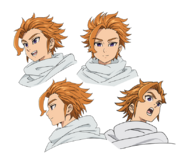 Arthur anime character designs 1