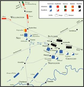 Battle of Ligny and Quatre Bras