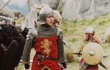 Edmund in battle