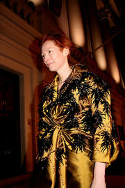 Tilda swinton at the baftas