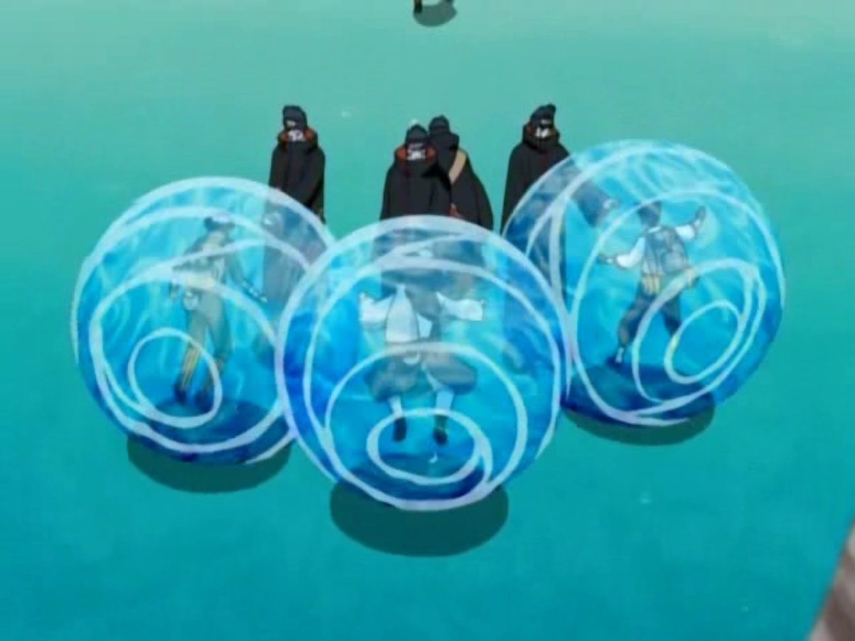 Water Prison Jutsu