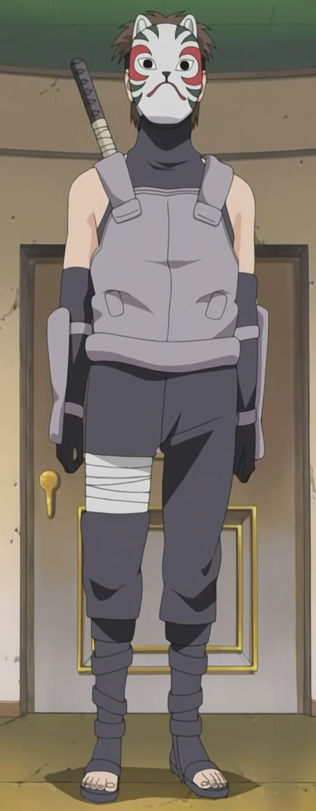 Naruto As A Anbu Image - Yamato Anbu Un...