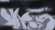 Zetsu switching Kisame