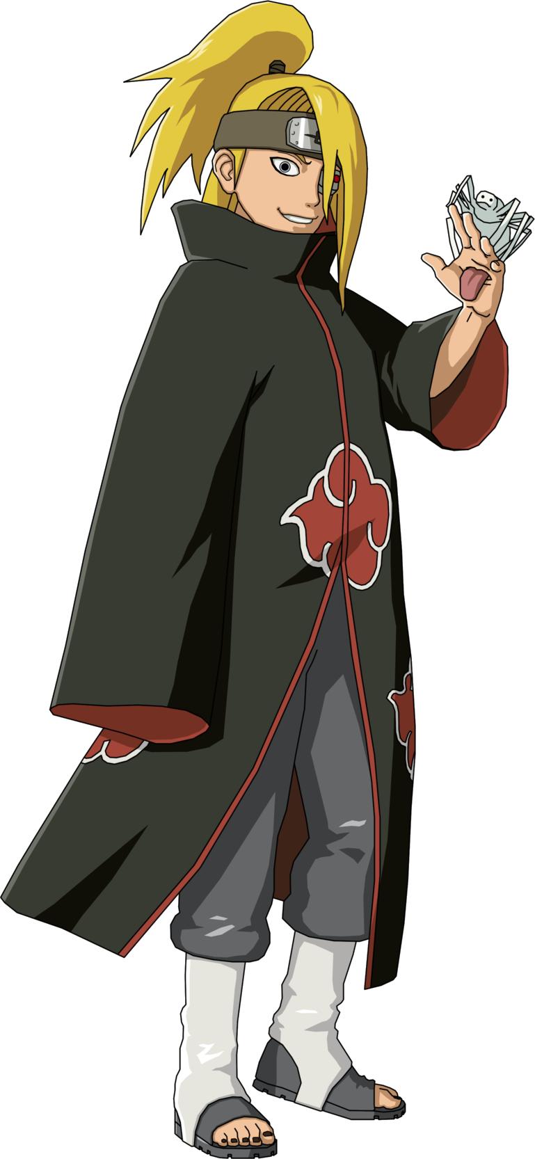 Image - Deidara - Akatsuki.png | Narutopedia | Fandom ...