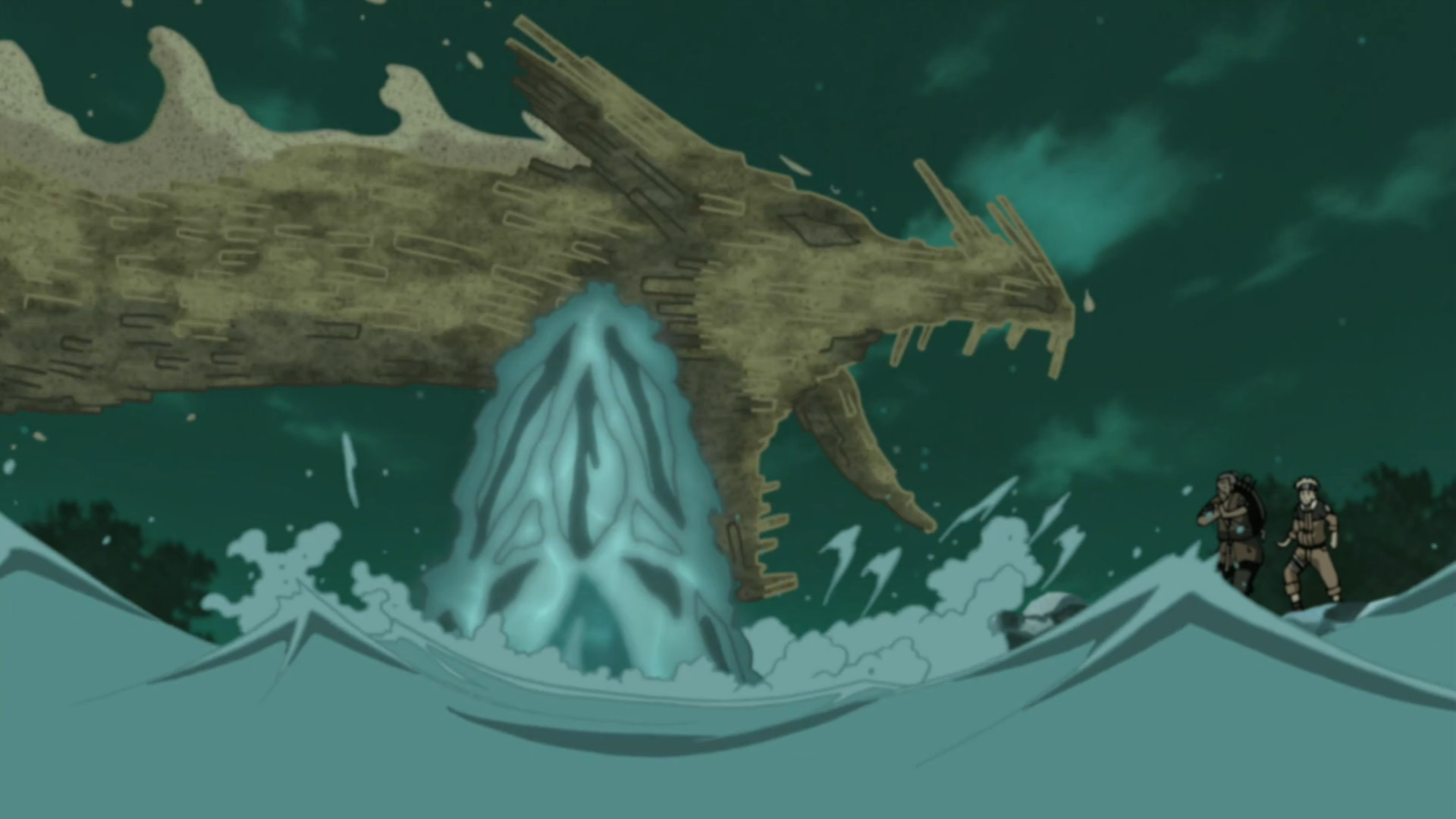 Earth Release: Earth and Stone Dragon | Narutopedia ... Sage Of The Six Paths Face