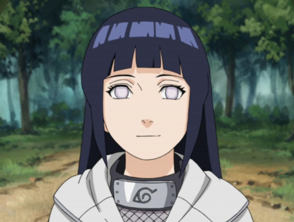 Hinata Hyuga : Nana Mizuki (voice)