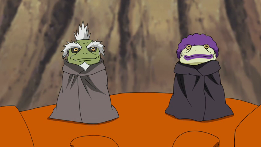 GREAT TOAD SAGE! Naruto Shippuden Review 461   YouTube