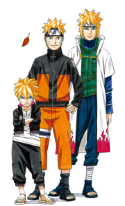 Naruto Exhibition characters