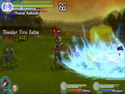 Thunder fire jutsu