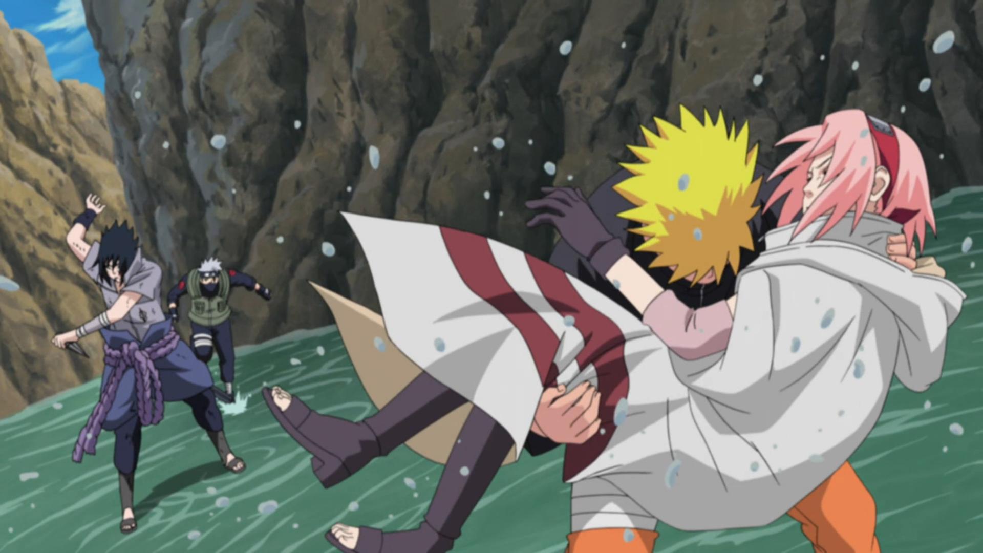 Team 7 - Naruto vs. Sasuke OVA by CartoonPerson on DeviantArt