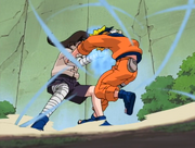 Neji's Fight With Naruto