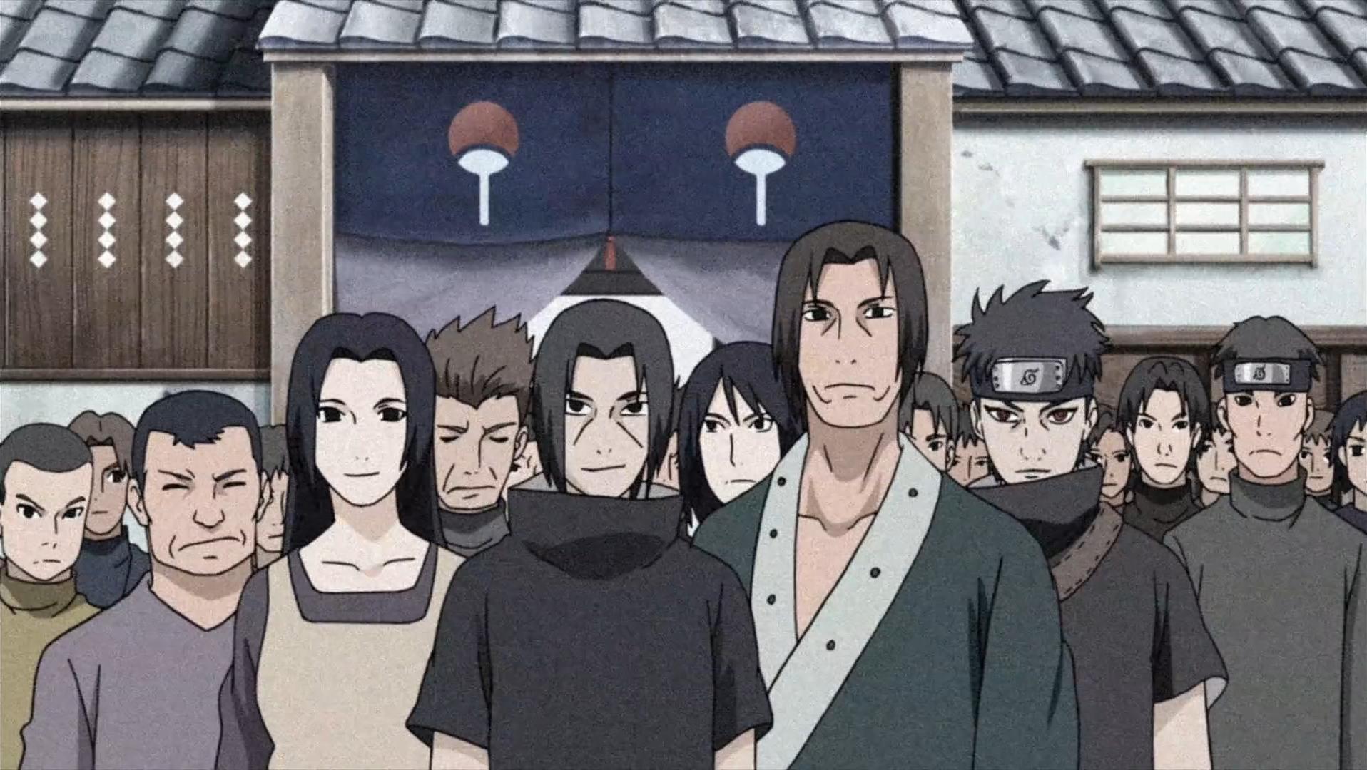 Uchiha Family The Uchiha clan during