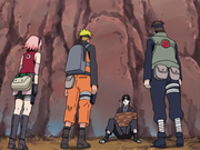 Sai captured by Team 7