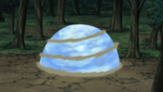 Kaiten has the shape of a sphere. Just like Rasengan.