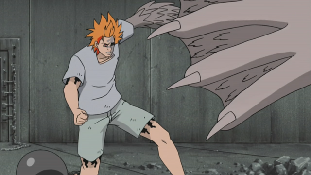 File:Jugo preparing to attack Sasuke.png