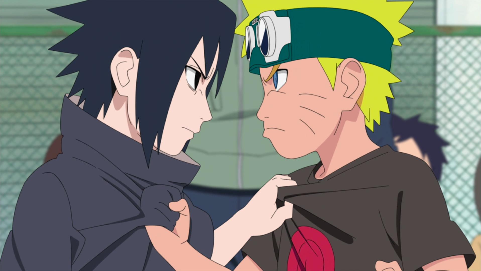 Image young sasuke and narutopedia fandom - Naruto as sasuke ...