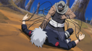 Kakuzu loses 2nd heart