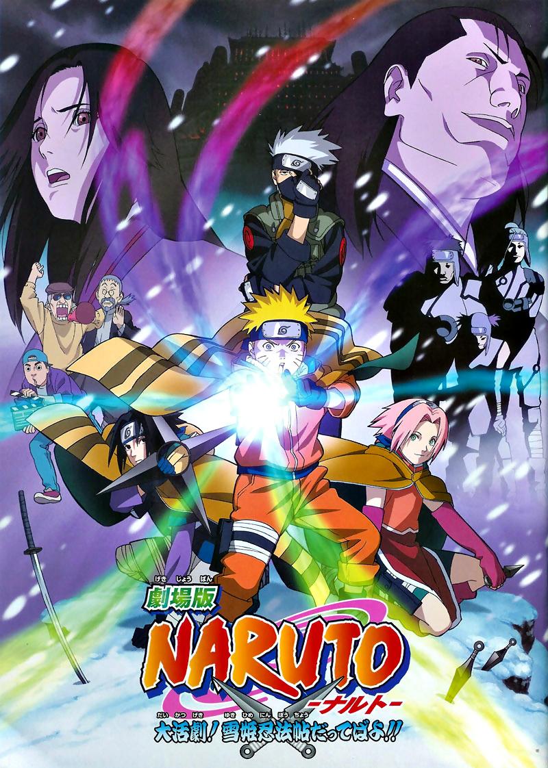 anime naruto movie: Naruto Film 1 : Naruto Et La Princesse Des Neiges