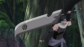 Jūzō wielding the Kubikiribōchō