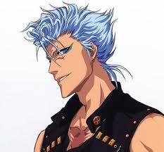 Blue haird guy