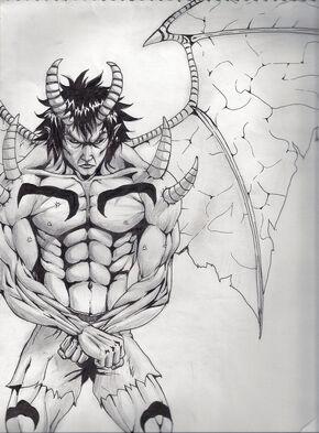 Akuma Devil Form