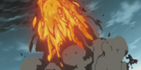Fire Release: Great Dragon Fire Technique