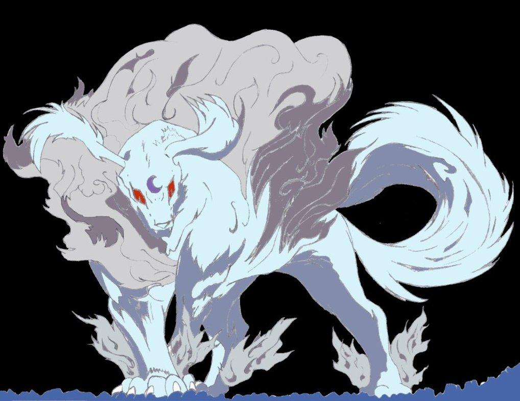 Sesshomarus Mother Demon Form