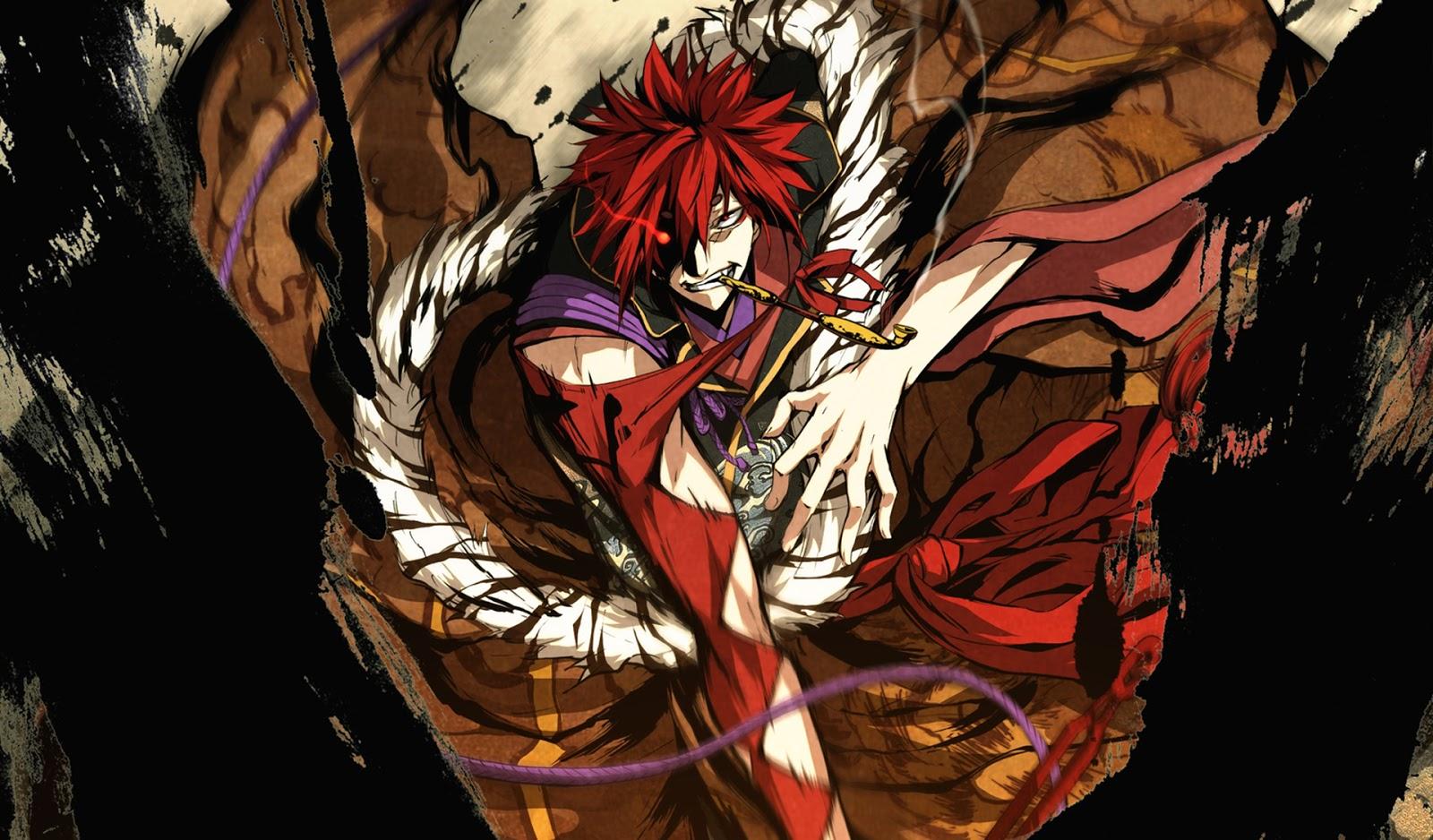 Image habaki sakagami kajiri kamu kagura pipe red anime - Anime male wallpaper hd ...