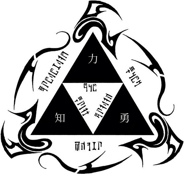 Image - Triforce Tattoo Design 2 By Dfaoj.jpg