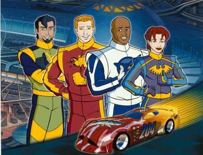 NASCAR Racers (TV Series 1999–2001) - IMDb