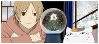 Natsume yuujinchou OVA snow globe