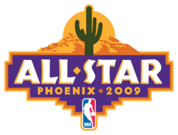 2009 NBA All Star Game logo