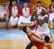 LeBron James vs Yao Ming - Olympics 2008