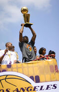 Kobe Trophy Parade