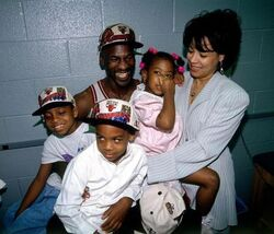 Michael Jordan Family