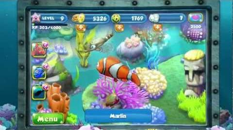 Nemo's Reef app -- Official Disney Trailer