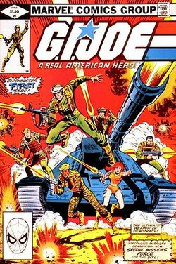 GI Joe A Real American Hero 1 cover