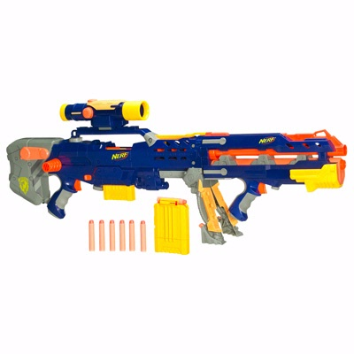 REVIEW] Nerf Elite Longshot CS-6 Unboxing, Review, & Firing Test ...