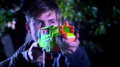 Nerf Vortex Lumitron Blaster with Firefly Tech