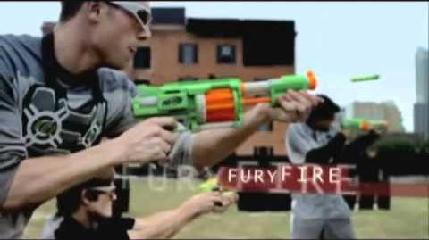 Nerf 2009 Commercial - Dart Tag FuryFire set