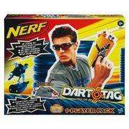 DartTagOnePlayerPackSilver