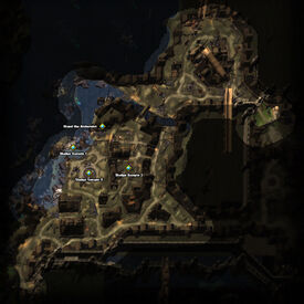 Sampling Sludge Quest Map