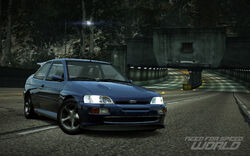 CarRelease Ford Escort RS Cosworth Blue