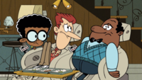 The Loud House Harold McBride with Howard and Clyde