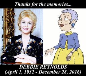 In Memory of Debbie Reynolds